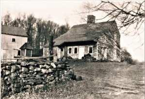 Ebenezer Hubbell 32 Bibbins Road, c.1740.