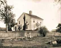211 Center Road. Reverend James Johnson House c.1760