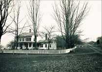 145 Sherwood Road. Sherwood Homestaed c.1860. C.1878 photo