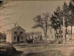 Haeublein's Store & Post Office c.1910 corner of Sport Hill & Adams Road