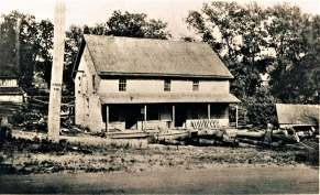 1910 Platsville Sawmill at foot of Sport Hill Road