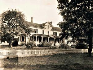 Ward Homestead 265 Center Road c. 1800.