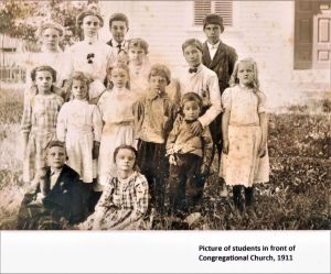 Easton HSE 1911 Students in front of Cong