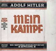 Dust jacket of Mein Kampf (1926–1927).
