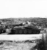 Tiger 2 at Normandy.