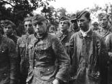 German prisoners from SS-Panzerdivision Hitlerjugend during Normady.