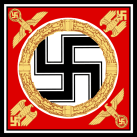 Personal standard of Adolf Hitler.