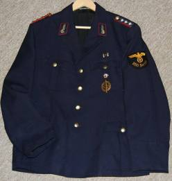 Deutsche Reichsbahn early open collar Bluse. Order Catalog for http://soldat.com/ or Soldat FHQ on Facebook.