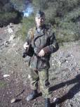 Spyros Kyriakos of the LSSAH-GREECE Historical Air soft Group