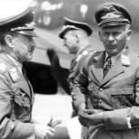 Alexander Löhr and Wolfram von Richthofen (1942).