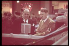 Hitler at the International Auto Exhibit, 1939 in Berlin.