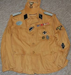SD Tropical Untersturmfhr Bluse. Made by http://soldat.com/ or Soldat FHQ on Facebook.