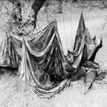 Dead paratrooper, Crete, 1941.