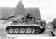 Tiger 1 in Normandy 1944.
