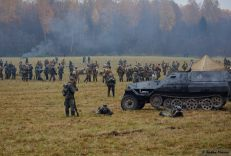 Re-enactors in Russia.
