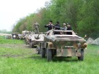 Re-enactors of the 2nd Panzer Division located in the U.S.