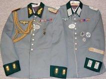 Waffenrocks - Wehrmachtbeamter General Officer & Oberst Inf. Rgt. 78. Order Catalog for http://soldat.com/ or Soldat FHQ on Facebook.