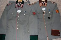 Couple of police uniforms. Order Catalog for http://soldat.com/ or Soldat FHQ on Facebook.