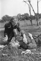 Unfortunate casualties of war. Polish civilians.