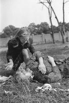 Unfortunate casualties of war. Polish civilians.