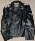 Custom leather panzer wrap. Order Catalog for http://soldat.com/ or Soldat FHQ on Facebook.