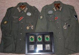 """Allerberger & Hetzenauer 144 Gebirgs. Rgt sniper """"tag"""" team customer project. Order Catalog for http://soldat.com/ or Soldat FHQ on Facebook."""