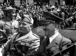 Hitler and Mussolini June,1940.