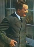 Adolf Hitler at Berghof.