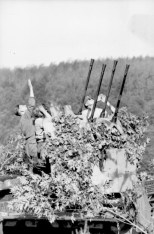 Luftwaffe Flakvierling unit.