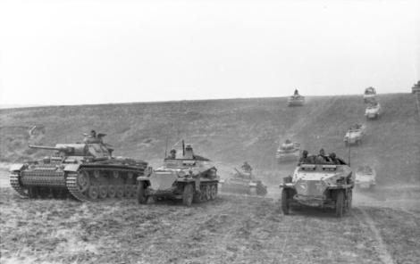 """The classic characteristic of what is commonly known as """"blitzkrieg"""" is a highly mobile form of infantry and armour, working in combined arms."""