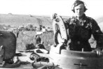 The commander of a Tiger I attached to 2nd SS Panzer Division Das Reich