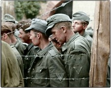 German Prisoners of War, France 1944.