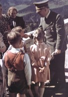 Adolf Hitler and children at Berghof.