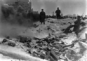 German dead in the city.