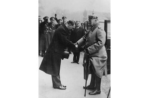 Hitler and Hindenburg
