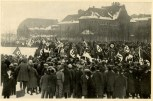 Germany Awakes. Group #32. Picture #18: Troop ordination on the Marsfeld in Munich, 1923.