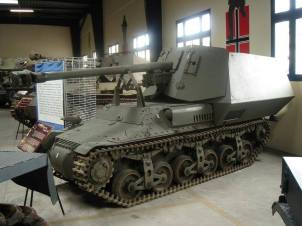 Marder 1 with French marking on it at the Musée des Blindés – Tank Museum – France.