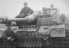 StuG IV assault gun.