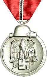 "Over three million German and axis personnel were awarded the Eastern Front Medal for service during 15 November 1941 – 15 April 1942 from its creation on 26 May 1942 until 4 September 1944. Soon it was nicknamed as the Gefrierfleischorden – ""badge of the frozen flesh""."