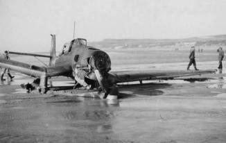 Crashed Stuka.