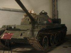 Soviet T-54 at the Musée des Blindés - Tank Museum - France.