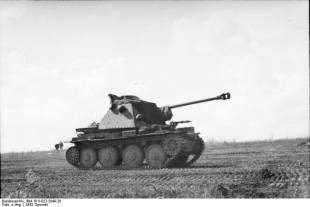 Marder III Ausf. H on the Eastern Front.