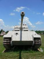 Panther with flattened lower 'chin' mantlet.