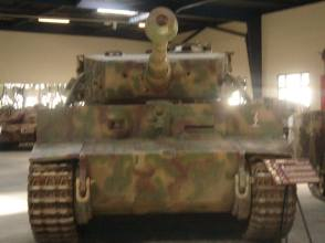 Tiger at the Musée des Blindés - Tank Museum - France.
