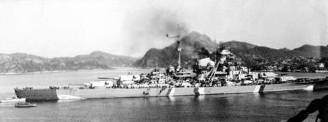 Battleship Bismarck 1941.