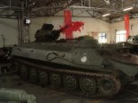 Soviet Armor at the Musée des Blindés - Tank Museum - France.