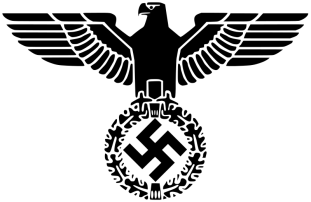 Reichsadler (1935-1945) of Nazi Germany.