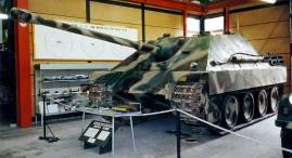 Jagdpanther at the German Tank Museum.