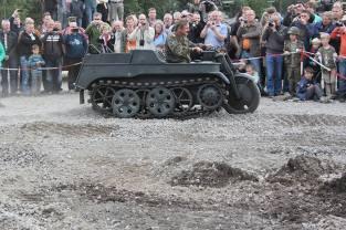 Sd.Kfz. 2 - Kettenkrad at the Deutsches Panzermuseum - German Tank Museum.