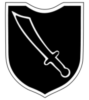 Insignia of 13th Waffen Mountain Division of the SS Handschar (1st Croatian).